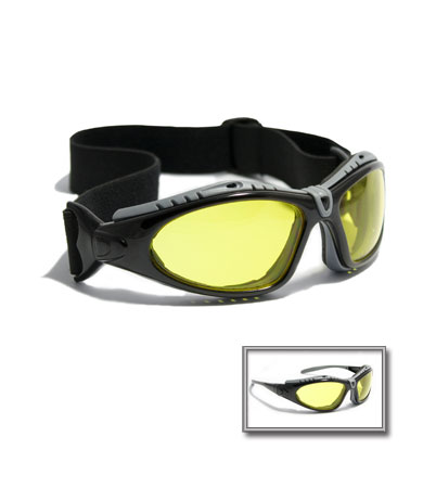 PIP®  Fuselage Safety Glasses- Amber