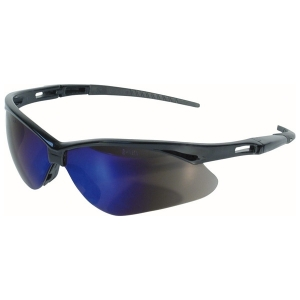 14481 Kimberly Clark® Professional V30  Nemesis Safety Glasses w/ Black Frame/Blue Mirror Lens
