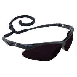 22475 Kimberly Clark® Professional V30 Safety Glasses w/ Black Frame/Smoke AF Mirror Lens