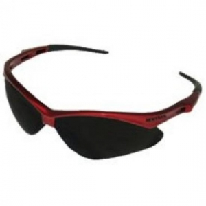 22611  Kimberly Clark® Professional V30 Nemesis™Safety Glasses w/ Red Frame/Smoke Lens