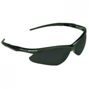 25688 Kimberly Clark® Professional V30 Nemesis™ Safety Glasses w/ Black Frame/Smoke Mirror Lens