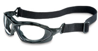 Uvex™ By Honeywell Seismic® Sealed Safety Glasses, SO600X Uvex™ Seismic® Foam Lined Safety Glasses w/ Anti-Fog Lens