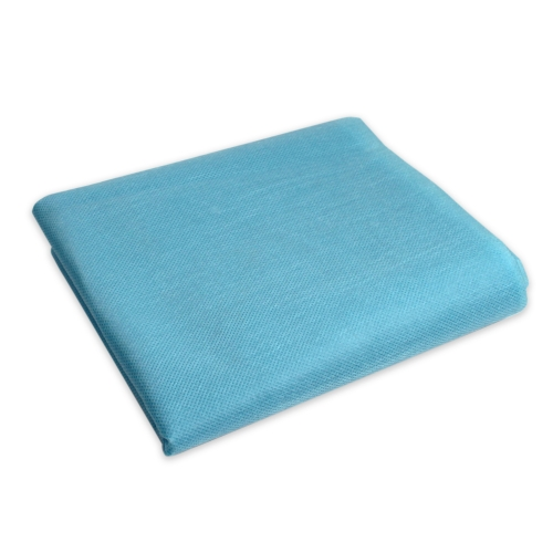 #3514 Dynarex® Premium Fitted 30` X 85` Light Blue Disposable Cot Sheets