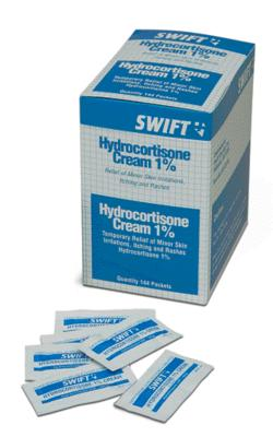 Swift First Aid 1 Gram Foil Pack 1% Hydrocortisone Cream