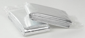 Swift First Aid Silver 84` X 52` Mylar Rescue Blanket