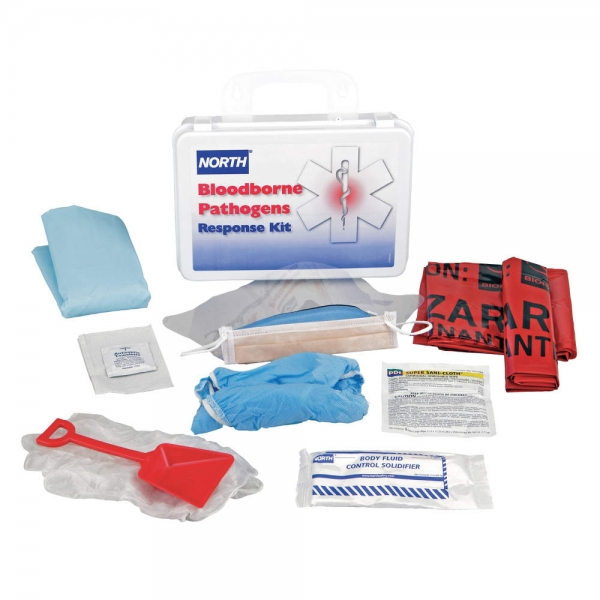 19746-0032 North® By Honeywell 16 Unit Bloodborne Pathogen Response Kit