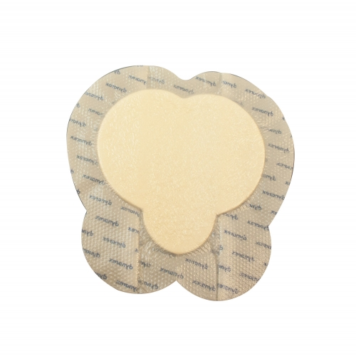 3063 Dynarex® SiliGentle™ Silicone Bordered Foam Dressing - Large Sacral 9`
