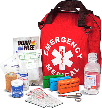 Emergency Medical Trauma Bags Red First Aid Bags First