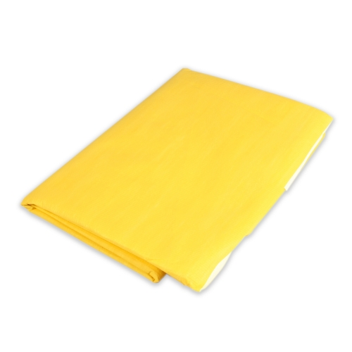 3519 Dynarex® Economy Disposable Yellow Emergency Highway Blankets