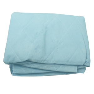 #3541 Dynarex® Disposable Blue Non-Woven Patient Blankets - 44` x 84`