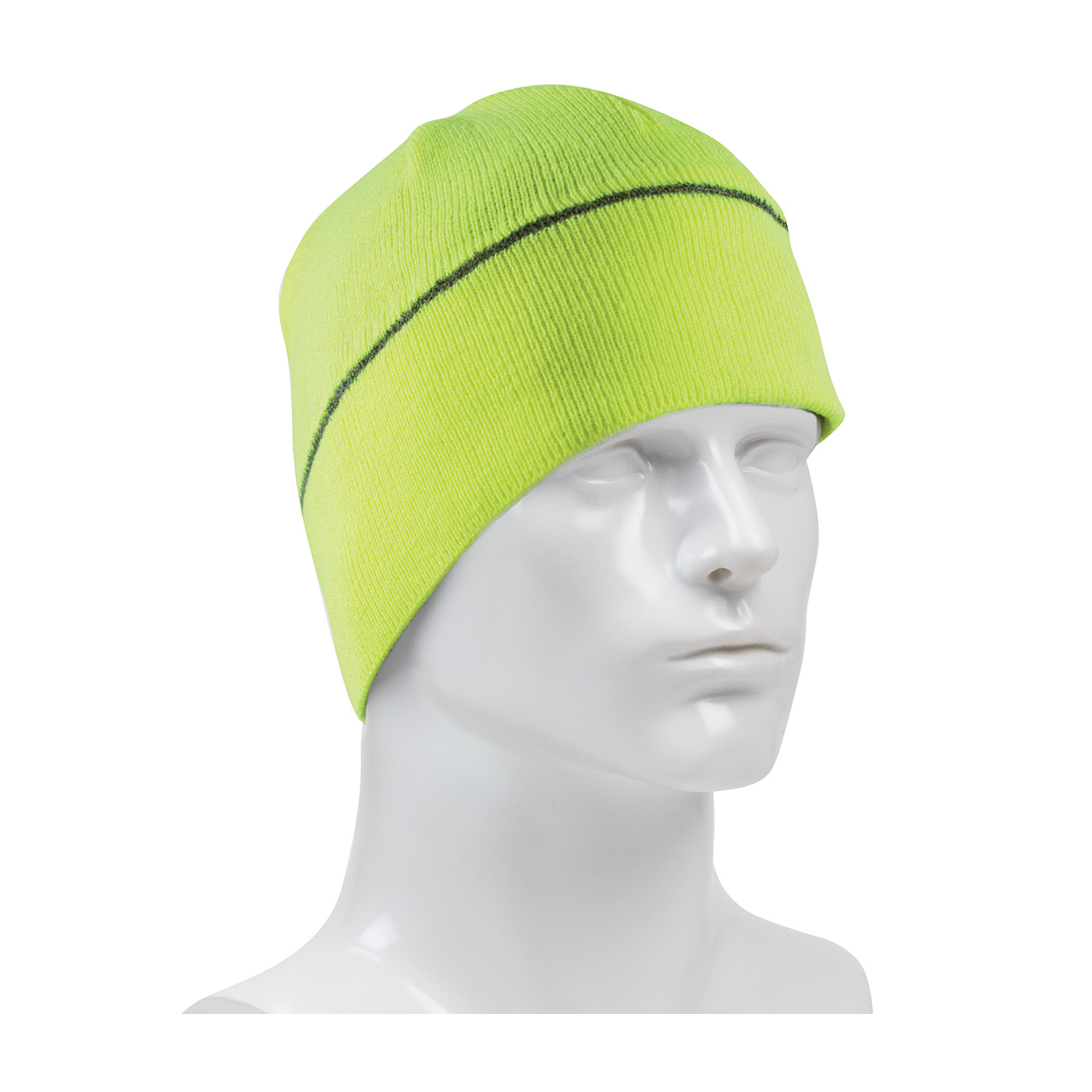 PIP® Hi-Vis Winter Beannie Caps w/ Reflective Stripe