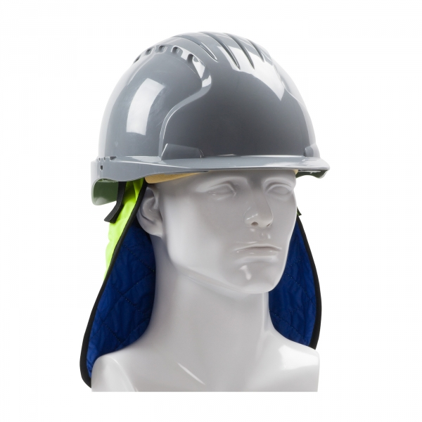 PIP® EZ-Cool® Plus Evaporative Hi-Vis Hard Hat Cooling Neck Shade #396-EZ810