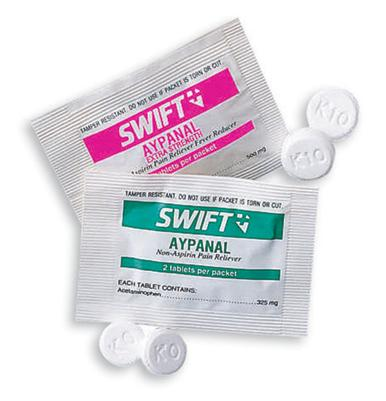 Swift First Aid Aypanal Non Aspirin Pain Reliever