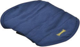 968-018 OccuNomix Blue MiraCool® Cotton Hard Hat Pad with Hook and Loop Closure