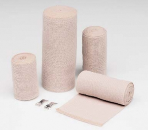 Hartmann-Conco 4 1/2 Yards Tan Econo-Wrap® LF Latex-Free Reinforced Elastic Wrap