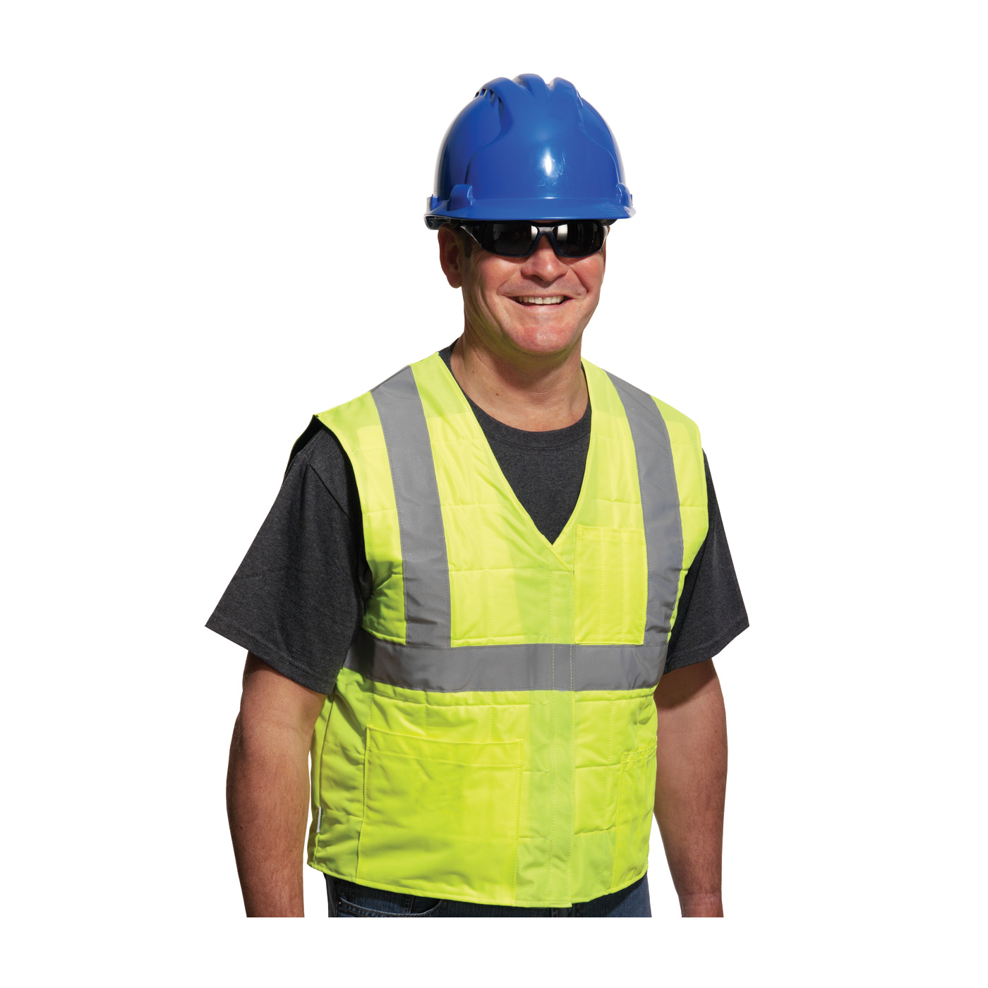 EZ-COOL Flash High Visibility Cooling Vest, 390EZ202 PIP EZ-Cool® Flash Hi-Vis Cooling Safety Vest