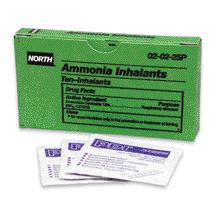 #020225 North® First Aid Ammonia Inhalants/Ampoules Kit Refills