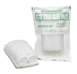 Swift First Aid 3 1/2` X 5 1/2` Bloodstopper® Multi-Functional Trauma Dressing Bandage