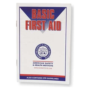 #045027 American Safety & Health Institute Basic First Aid Manual