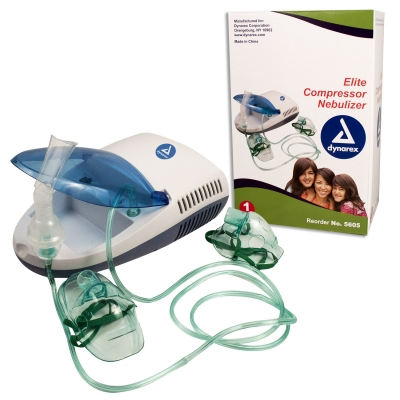 Compare to Drive Medical AeroNeb* (#7090-7091), 5605, Dynarex® Elite Compressor Nebulizer with Standard Accessories (Wholesale)