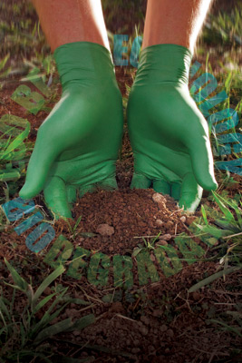Showa® GREEN-DEX™ Biodegradable Nitrile Gloves