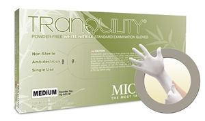 TQ601 Microflex® Tranquility® Disposable Powder-Free Nitrile  Exam Gloves