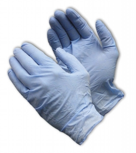 Nitrile, Industrial Grade, Textured Grip, 4 mil., Powder-Free, 63332PF PIP 4-Mil Ambi-dex® Industrial Disposable Powder-Free Nitrile Gloves
