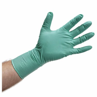 Disposable Green Vinyl Gloves