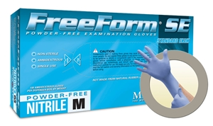 FFS700 MicroFlex® FreeForm® SE Powder-Free Disposable Nitrile Exam Gloves