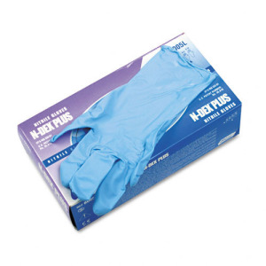 8005 Showa® Best® N-Dex® Plus Powdered Disposable Nitrile Gloves