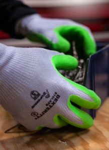 Superior® Glove Dexterity® Latex Palm Coated High-Vis Knit Gloves
