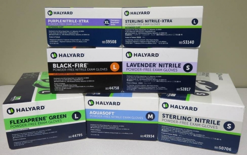 Halyard Latex-Free Examination Gloves