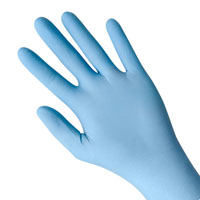 8005PF Showa® Best® N-Dex® Plus Powder-Free Nitrile Gloves