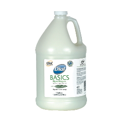 Dial® Basics Liquid Soap- Gallon, 06047 Dial® Basics Hypoallergenic Liquid Hand Soap- Gallon