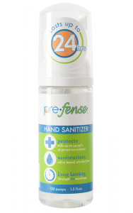 Prefense™ 1.5-ounce Alcohol-Free Foam Hand Sanitizer
