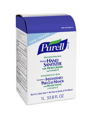 Purell® Advanced Instant Hand Sanitizer, 2137 Purell® NXT® Instant Hand Sanitizer Gel w/ Aloe- 1000mL