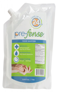 Prefense™ Alcohol-Free Foam Hand Sanitizer - Liter