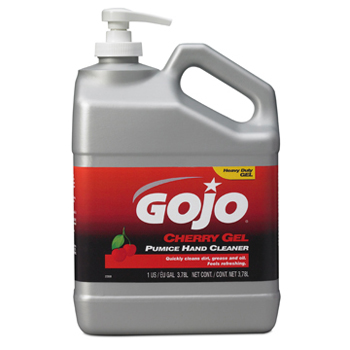 GOJO® Cherry Gel Pumice Hand Cleaner- Gallon, 2358 GOJO® Cherry Gel Pumice Hand Cleaner (Gallon)