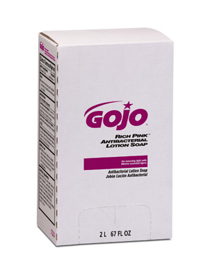 #7220 GOJO® Rich Pink™ Antibacterial Hand Soap - 2000mL