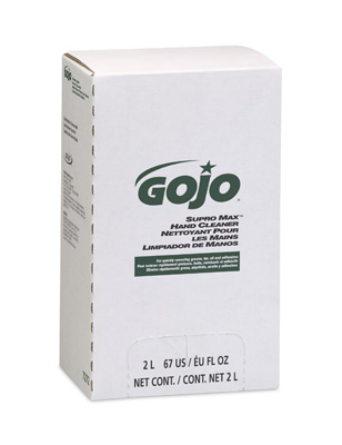 #7272 GOJO® Supro Max™ Hand Cleaner w/ Scrubbers (2000mL)