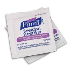 #9021 Purell® Individually Wrapped Instant Hand Sanitizing Wipes