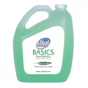DIA 98612 Dial® Basics Foaming Hand Soap, 98612 Dial® Basics Hypoallergenic Foam Aloe Hand Soap (Gallon)