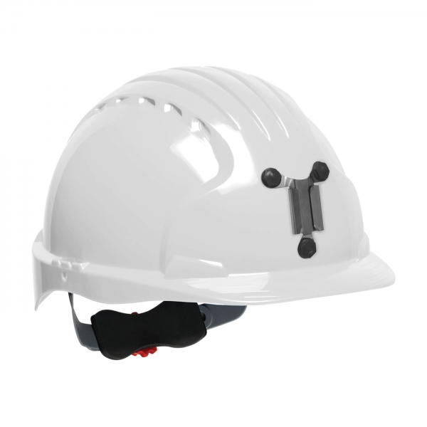280-EV6151M PIP® JSP® Evolution® 6151 Deluxe Mining Hard Hat: WHITE