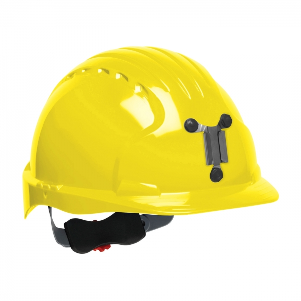280-EV6151M PIP® JSP® Evolution® 6151 Deluxe Mining Hard Hat: YELLOW