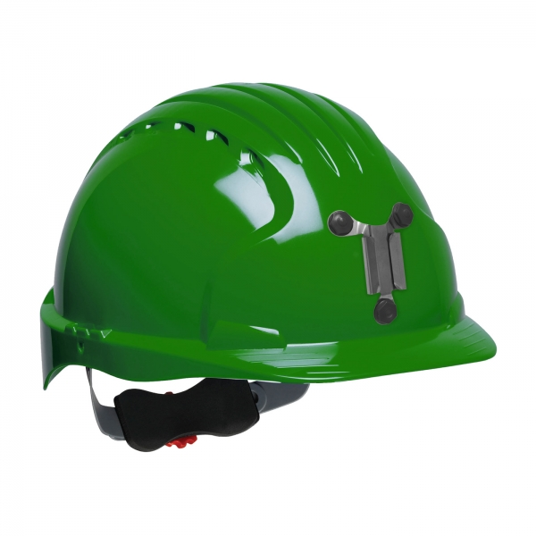 280-EV6151M PIP® JSP® Evolution® 6151 Deluxe Mining Hard Hat: GREEN