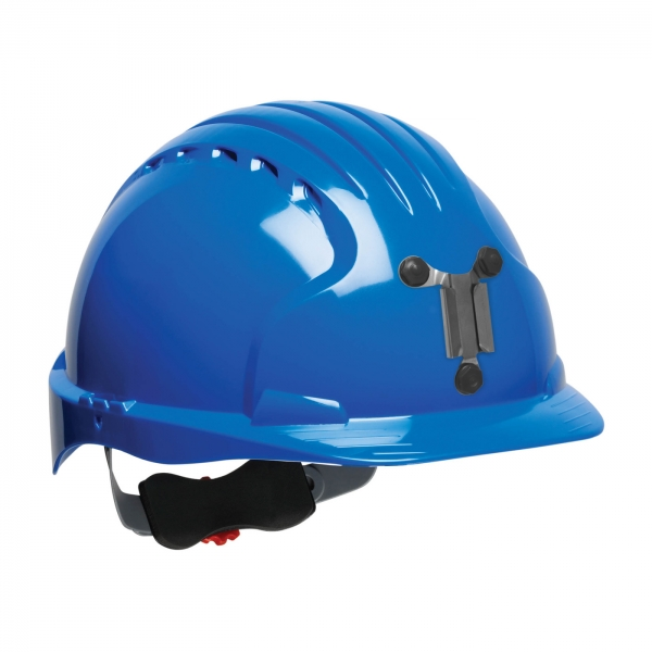 280-EV6151M PIP® JSP® Evolution® 6151 Deluxe Mining Hard Hat: BLUE