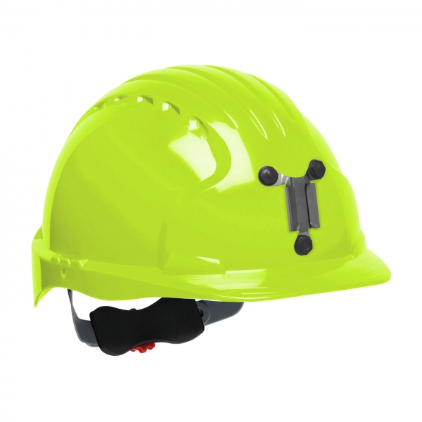 280-EV6151M PIP® JSP® Evolution® 6151 Deluxe Mining Hard Hat: BRIGHT LIME YELLOW