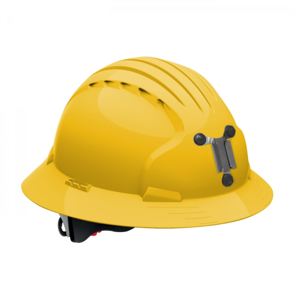 PIP JSP® Evolution® Deluxe 6161 Full Brim Mining Hard Hat: YELLOW
