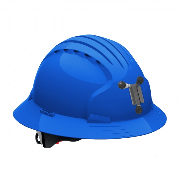 PIP JSP® Evolution® Deluxe 6161 Full Brim Mining Hard Hat: BLUE