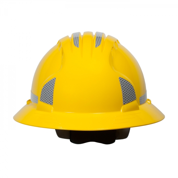281-CR2FB PIP® Full Brim Hard Hat CR2 Reflective Kit